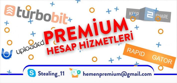 premium hesap hizmetleri