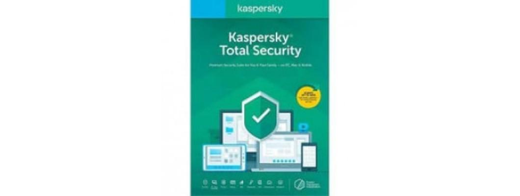 Kaspersky Total Security - Çoklu Kullanıcı - 1 Pc - 1 Yıl