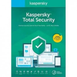 Kaspersky Total Security 2019-2020 3 PC-1 YIL
