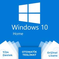 Windows 10 Home OEM Dijital Lisans Anahtarı