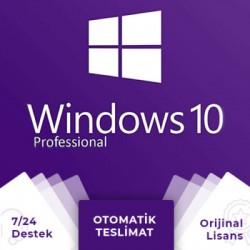 Windows 10 Pro Retail Dijital Lisans Anahtarı